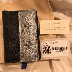 🌗✨ Louis Vuitton Pocket Mono Eclipse Wallet ✨🌗